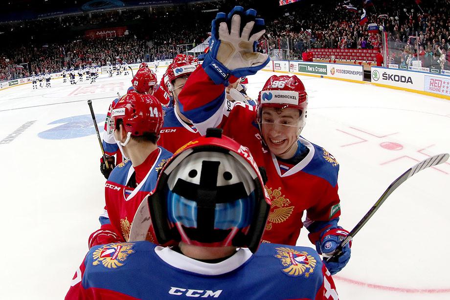 Россия – Чехия – 3:1