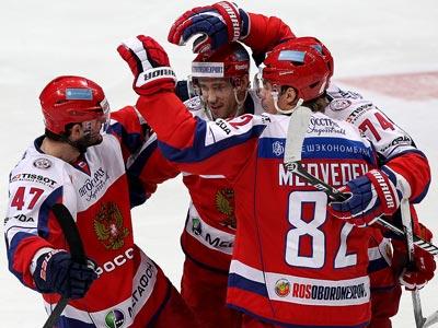 Сборная России разгромила чехов – 6:0