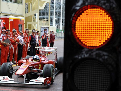 Шумахер заехал в серую зону регламента