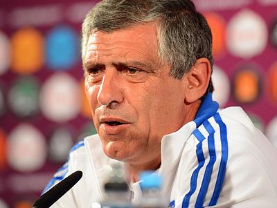 Главный тренер сборной Греции Фернанду Сантуш