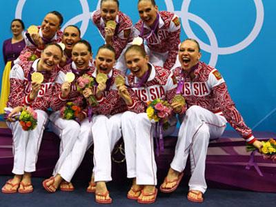Лондон-2012. Синхронное плавание. Сборная России