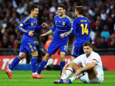 Пять новых моментов перед матчем Украина - Англия