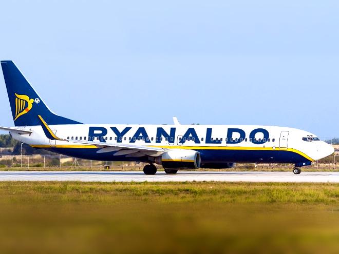 Самолёт, названный в честь Роналду, звезда Бубнова и город Бэйла