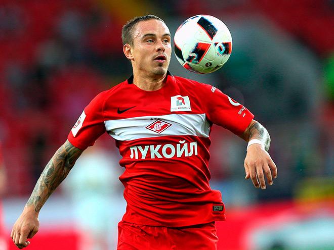 Андрей Ещенко, «Спартак»