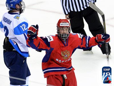 Юниорская сборная России обыграла финнов