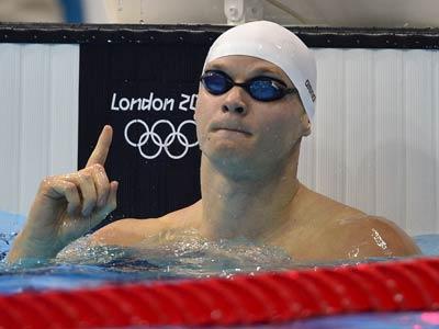 Лондон 2012. Плавание. Евгений Коротышкин