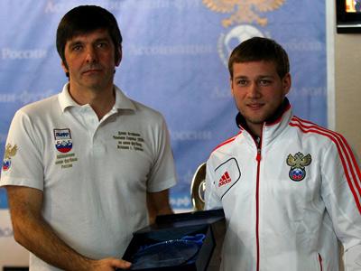 Александр Верижников и Николай Переверзев