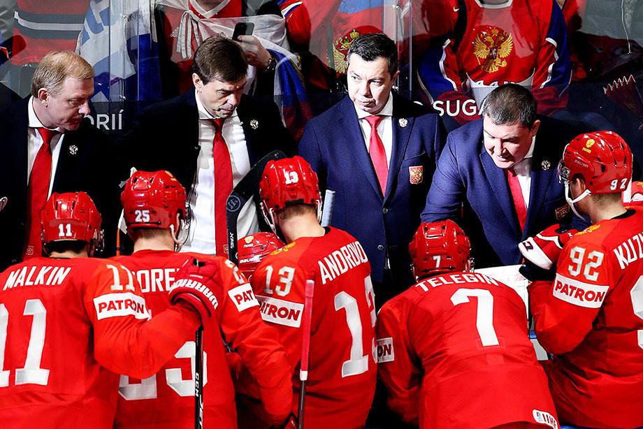 Как сборная России готовится к матчу с Финляндией