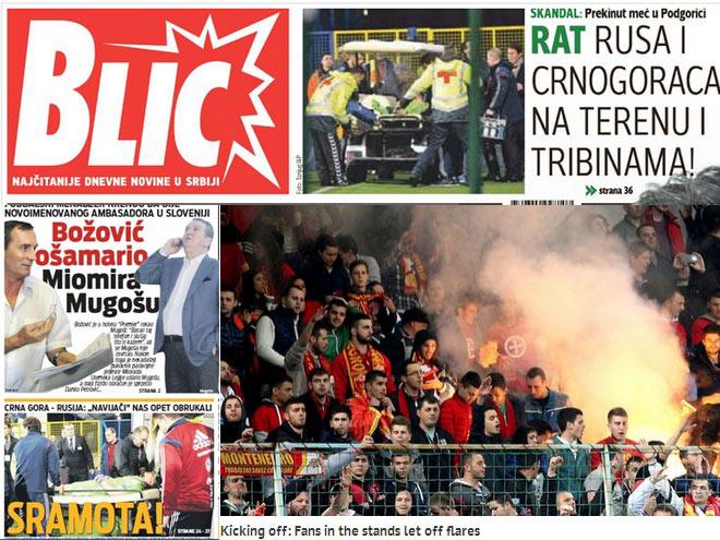 Скандал в Черногории – в обзоре СМИ