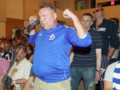 «Динамо» встретилось с болельщиками и ответило на острые вопросы