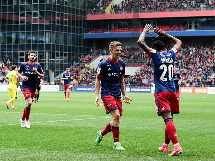 ЦСКА обыграл Анжи и попал в групповой этап Лиги чемпионов