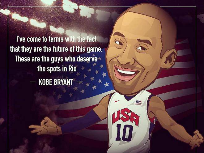 Коби Брайант не сыграет за сборную США на Олимпиаде в Бразилии