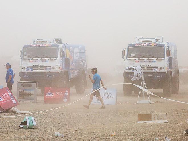 11-й этап «Шёлкового пути» отменён из-за песчаной бури