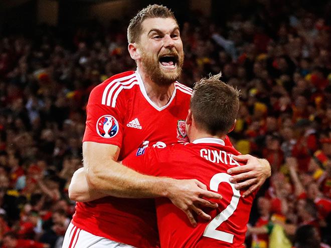 Евро-2016. Игроки и тренеры - о победе Уэльса над Бельгией в четвертьфинале