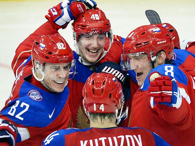 Сборная России обыграла Латвию