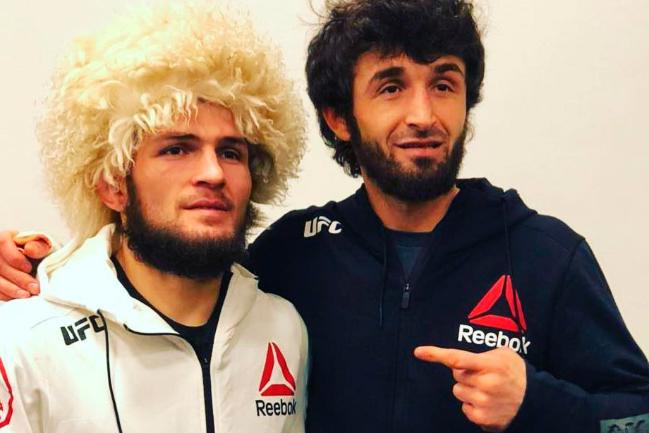 Хабиб Нурмагомедов и Забит Магомедшарипов