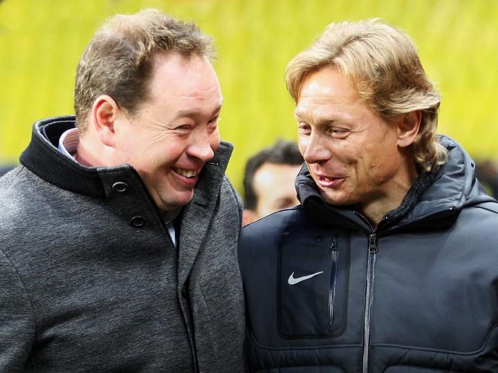 Леонид Слуцкий и Валерий Карпин