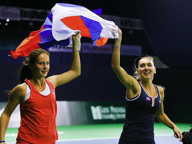 Касаткина и Веснина – о победе в Москве