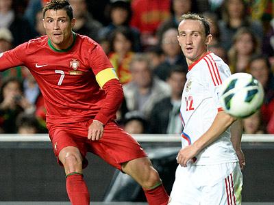 Алексей Козлов дебютировал в матче с Португалией