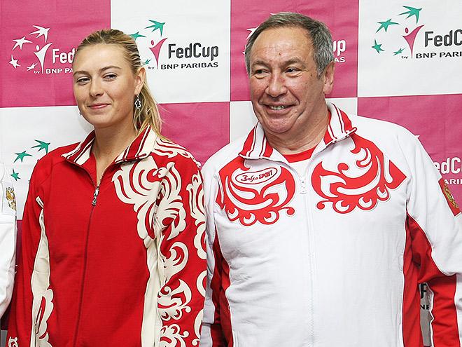 Пресс-конференция Тарпищева, Мыскиной, Шатхина