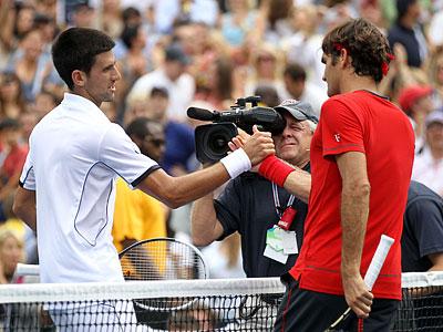 Очередной полуфинал Федерера и Джоковича