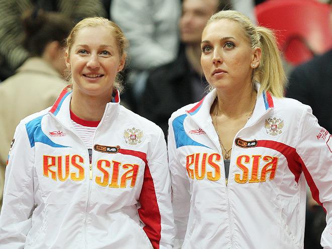 Россия борется за место в Мировой группе Fed Cup