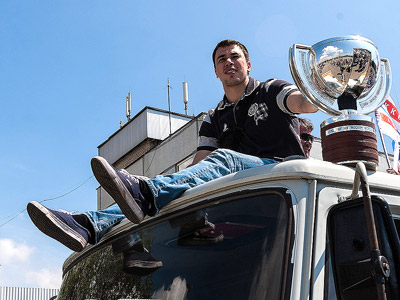 Алексей Емелин привёз Кубок чемпионов в Тольятти