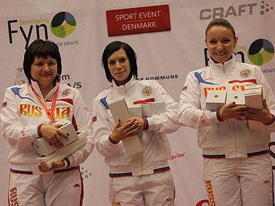 О победе женской сборной России по стрельбе