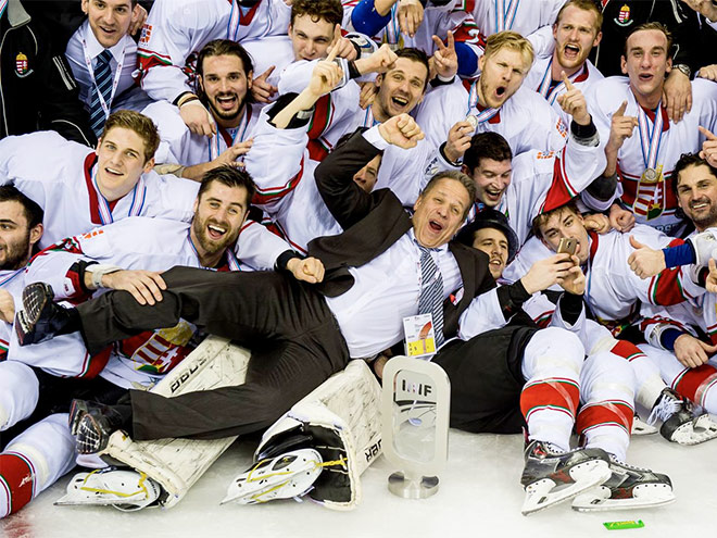Сборная Венгрии по хоккею
