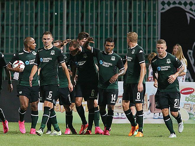 «Краснодар» – «Слован». Обзор матча – 2:0