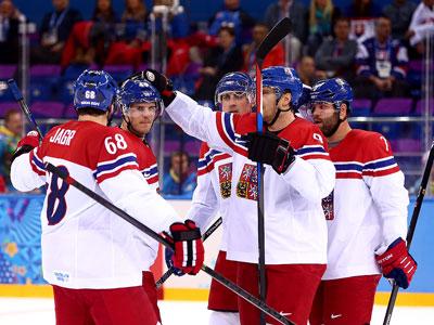 Сочи-2014. Хоккей. Плей-офф. Чехия-Словакия - 5:3