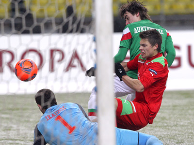 Максим Беляев в атаке