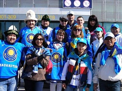 Казахстанские болельщики поделились впечатлениями от Хельсинки