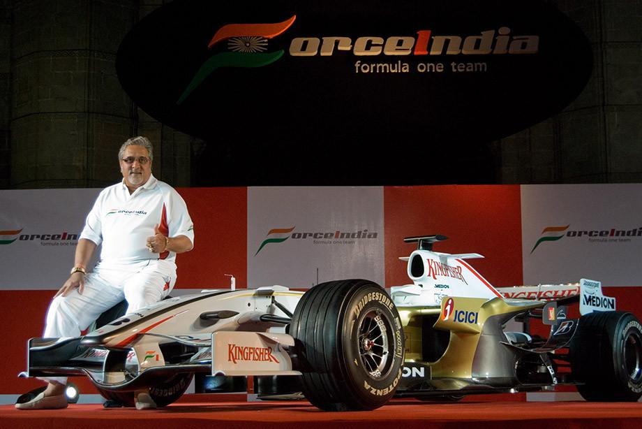 Главная индийская сила. История Виджая Малльи в Формуле-1