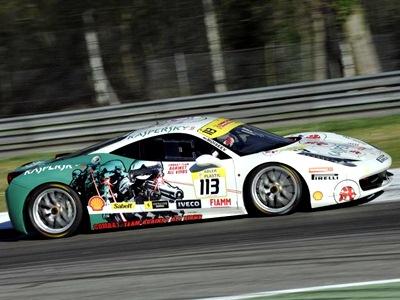 Обзор первого этапа серий Superstars и Ferrari Challenge Europe
