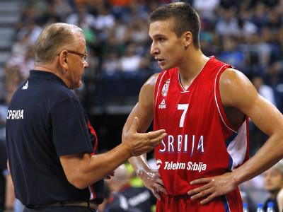 Защитник сборной Сербии Богдан Богданович