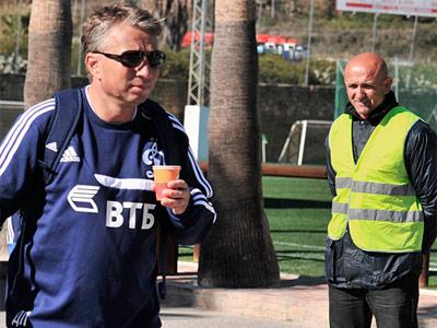 Дан Петреску и Лучано Спаллетти