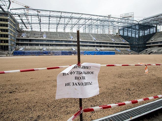 Как достраивается стадион ЦСКА