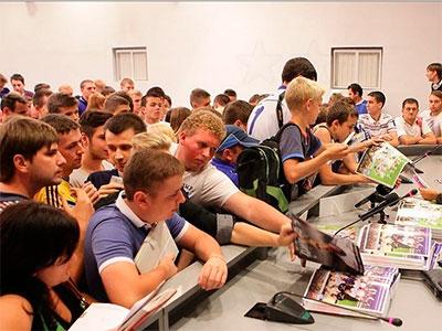 Игроки киевского «Динамо» встретились с фанами
