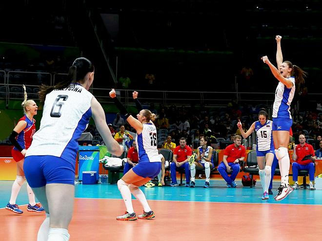 Олимпиада-2016. Волейбол. Россия - Камерун - 3:0