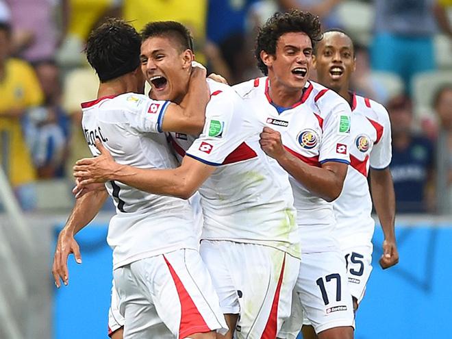 Коста-Рика второй раз в истории сыграет в плей-офф