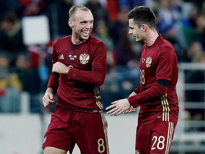 Денис Глушаков и Артур Юсупов
