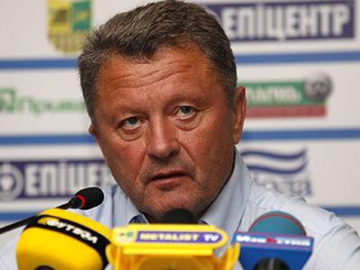 """Тренер """"Металлиста"""" провёл пресс-конференцию в Леверкузене"""