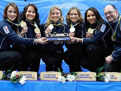 Россиянки выиграли чемпионат Европы по кёрлингу