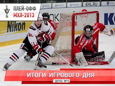 Итоги пятого игрового дня Кубка Харламова