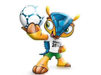 ФИФА утвердила талисман ЧМ-2014, Халк прилетел в Санкт-Петербург