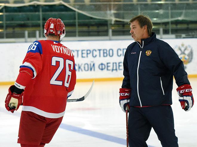 Вячеслав Войнов и Олег Знарок
