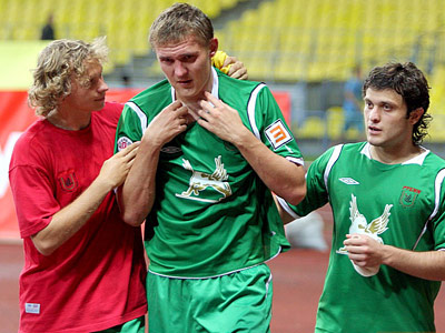 Бухаров: я хочу расти как футболист