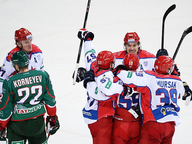 ЦСКА, «Сочи» и «Витязь» одерживают победы в КХЛ