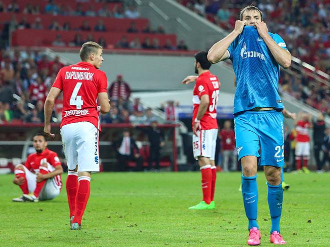 7 самых результативных встреч «Зенита» и «Спартака» с 2012 года